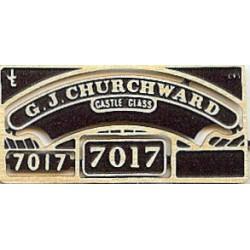 7017 G J Churchward