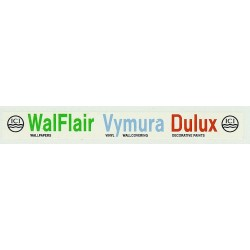 ADV06 4mm Scale Bus Side Advert : ICI WALFLAIR VYMURA DULUX ICI
