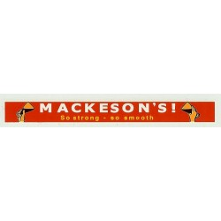 ADV09 4mm Scale Bus Side Advert : MACKESONS