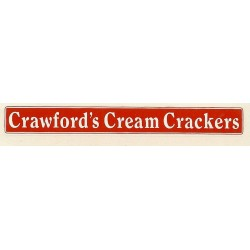 ADV11 4mm Scale Bus Side Advert : CRAWFORDS CREAM CRACKERS