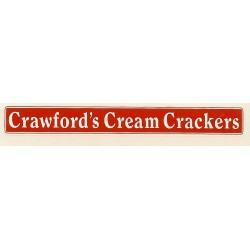 ADV11 1:76th Side Advert : CRAWFORDS CREAM CRACKERS