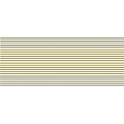 4M4482 Black & Yellow COACH LINING - SPECIAL OFFER £6.00 instead of £10.35 until 30th September