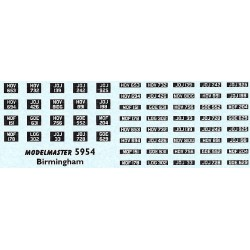 MB5954 BIRMINGHAM