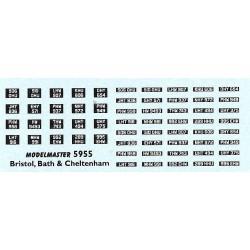 MB5955 BRISTOL BATH & CHELTENHAM
