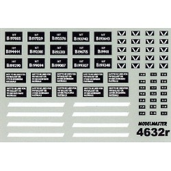 MM4632 Ex S.N.C.F. & Ex M.O.S. 'Cupboard Door' & Slope Sided 16T Mineral Wagons