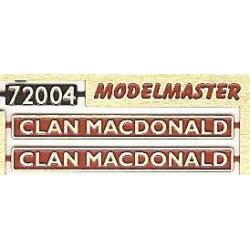 72004 Clan Macdonald