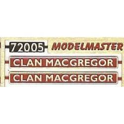 72005 Clan Macgregor