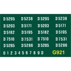 G921 B.R. 1250hp Type 2, D5150 series, WHITE