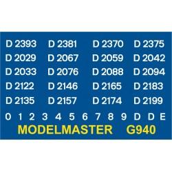 G940 204hp 0-6-0, D2000 series, WHITE
