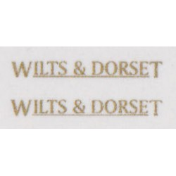 MB6074 WILTS & DORSET gold u/lined (small for front/rear)