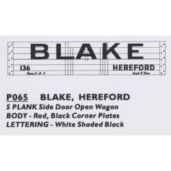 P065 BLAKE HEREFORD