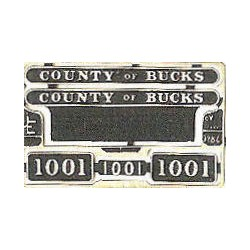 1001 County of Bucks