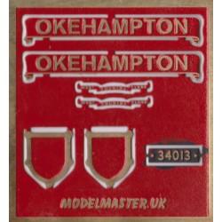 n34013 Okehampton