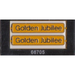 66705 Golden Jubilee