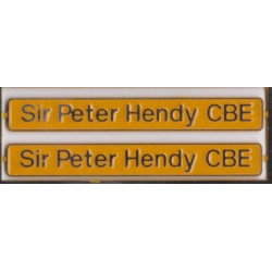 66718 Sir Peter Hendy CBE
