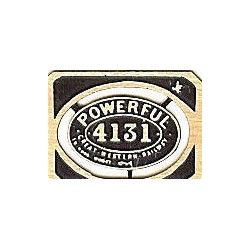 4131 Powerful (oval)