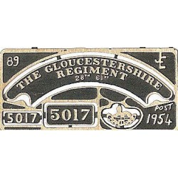 5017 The Gloucester Regiment 28th 61st