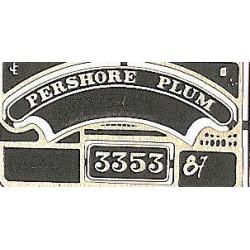 3353 Pershore Plum