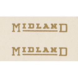 MB6028 MIDLAND RED. Small gold