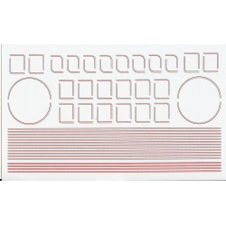 NT2082 B.R. Mixed Traffic Lining, Red/Grey NEW, REVISED SHEET