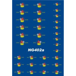 NTG402a 4 Pairs each of SMALL, MEDIUM and LARGE 1956 - 1968 Loco Crests