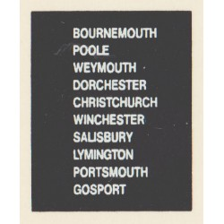 D71 BOURNEMOUTH GOSPORT SALISBURY WEYMOUTH CHRISTCHURCH POOLE PORTSMOUTH DORCHESTER WINCHESTER LYMINGTON