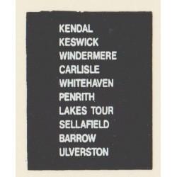 D72 CARLISLE WINDERMERE LAKES TOUR BARROW KESWICK KENDAL PENRITH SELLAFIELD WHITEHAVEN ULVERSTON