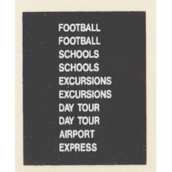 D73 2 x DAY TOUR 2 x FOOTBALL 2 x EXCURSION 2 x SCHOOLS AIRPORT EXPRESS
