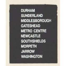 D75 MIDDLESBROUGH JARROW SOUTH SHIELDS GATESHEAD METRO CENTRE DURHAM SUNDERLAND MORPETH WASHINGTON NEWCASTLE