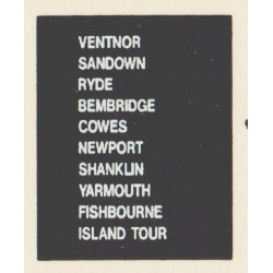 D76 VENTNOR RYDE COWES NEWPORT SHANKLIN YARMOUTH ISLAND TOUR FISHBOURNE BEMBRIDGE SANDOWN