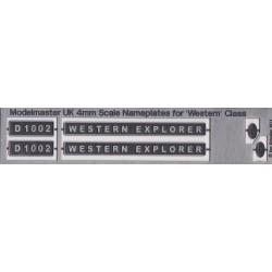 D1002 WESTERN EXPLORER