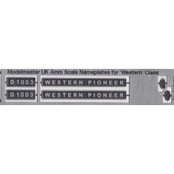 D1003 WESTERN PIONEER