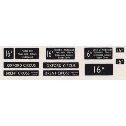 RM016A0 16A OXFORD CIRCUS & BRENT CROSS SHOPPING CENTRE