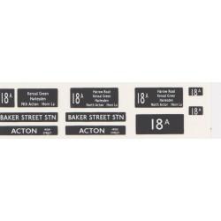 RM018A0 18A BAKER STREET STN & ACTON (HIGH STREET)
