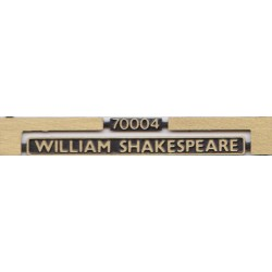70004 William Shakespeare