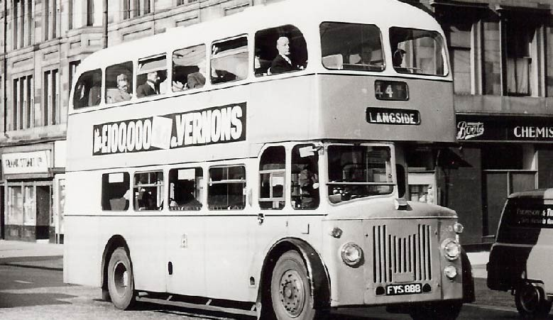 4mm Scottish Bus Company 1930s - 1960s Fleet Names